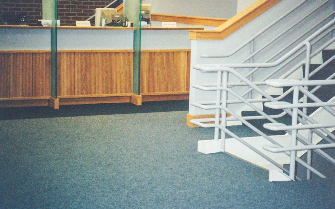 Lobby Carpet Install